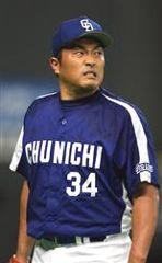 2回途中6失点で降板した山本昌=札幌ドーム