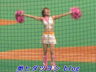 チアドラゴンズ、伊藤優ちゃんのおっぱい=2007ファン感謝デー
