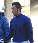 年明け早々にナゴヤ球場で練習を行った前田章宏