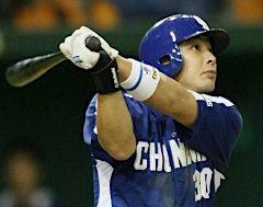 9回表、ソロ本塁打を放つ森野=東京ドーム
