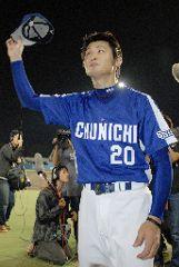 プロ初完投で6勝目を挙げた中田賢一=秋田