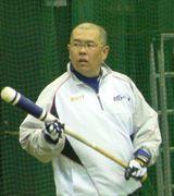 ナゴヤ球場で自主トレを行った小田幸平