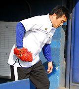 ナゴヤ球場で始動した山本昌